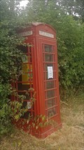 Image for Red Telephone Box - Main Street - Emondthorpe, Leicestershire