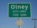 Image for Olney, TX - Population 3285
