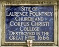 Image for Laurence Pountney Church and Corpus Christi College - Laurence Pountney Hill, London, UK
