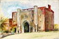 "Image for ""The Abbey Gateway, St Albans"" by Malvina Cheek – Market Place, St Albans, Herts, UK"