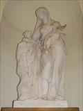 Image for Allegorical Figure of Meekness - St Peter & St Paul Chapel, ORNC, Greenwich, London, UK