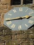 Image for Clock, St Nicholas, Kenilworth, Warwickshire, England