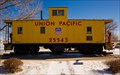 Image for Union Pacific Caboose 25543 - North Platte, NE