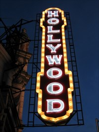 Hollywood Theatre Portland Oregon Artistic Neon Lights