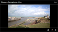 Image for Webcam Vue du Sémaphore - Dieppe, France