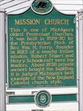 Image for Mission Church - Macinac Island, Michigan