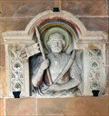 Image for Relief of St. Chrysanthus at  St. Chrysanthus und Daria Church - Kirchplatz, Bad Münstereifel - NRW / Germany