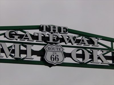 veritas vita visited OK Route 66 Gateway Arch