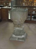 Image for Medieval Font, Priory Church, Leominster, Herefordshire, England