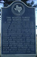 Image for The Respess Family and Respess Creek