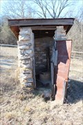 Image for Simon Cemetery Outhouses - Love County, OK