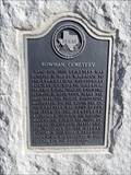 Image for Bowman Cemetery