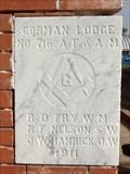 Image for 1911 - Gorman Lodge #716 A.F. & A.M. - Gorman, TX