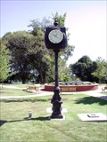 Image for Woodstock Centennial Clock – Woodstock, GA