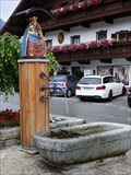 Image for Marienbrunnen - Dorfstraße - Mieders, Tirol, Austria