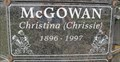 "Image for 101 - Christina ""Chrissie"" McGowan - Okotoks, Alberta"