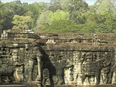 Terrace of the Elephants - Angkor, Cambodia