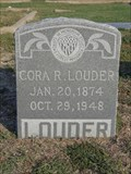 Image for Cora R. Louder - Little Elm Cemetery - Little Elm, TX