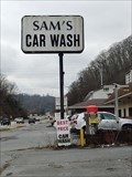 Image for Sam's Car Wash ~ State Line Circle ~ Weber City, Virginia.