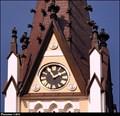 Image for Clocks of the Church of the Most Holy Heart of Jesus / Hodiny na kostela Nejsvetejšího Srdce Ježíšova - Ceský Tešín (North Moravia)