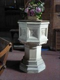 Image for Stone Font, St Mary de Wyche, Wychbold, Worcestershire, England