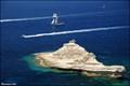 "Image for Limestone ""Battleship"" at Capo Pertusato cliffs (Corsica)"