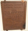 Image for Nevada County Court House - Nevada City, CA