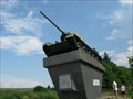 Image for Tank T34/85 near Hustopece, Czech Republic