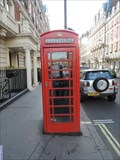 Image for Red Telephone Box - Mandeville Place, London, UK