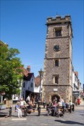 Image for St Albans Clock Tower - Market Place, St Albans, UK