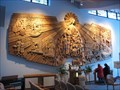 Image for LARGEST - Religious Wood Carving in the U.S. - National Shrine of St. Therese, Darien, IL