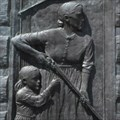 Image for 4 Bas relief bronze plaques by Norman Rockwell - Rindge, NH