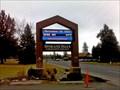 Image for Spokane Falls Community College Sign - Spokane, WA