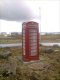 Image for Red Telephone Box in Keflavik, Iceland