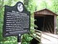 Image for Elder Mill Covered Bridge, Oconee County
