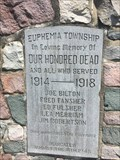 Image for Euphemia Township WWI Memorial - Florence, ON