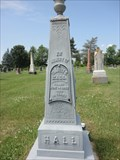 Image for ZINC - Hall Family Monument - Kars, Ontario
