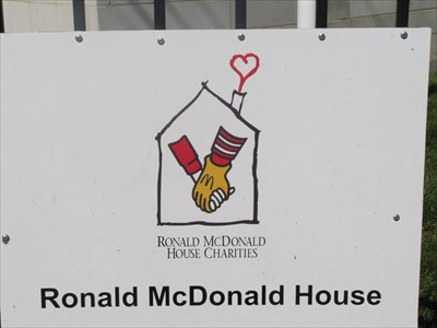 Ronald McDonald House Sign, Cincinnati, OH