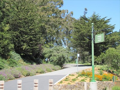 Southern Entrance, Buena Vista Park, San Francisco, CA