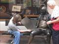 Image for Reading Benjamin Franklin's paper - Santa Barbara, California