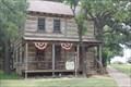 "Image for ""Cisco Couple Buys 19th Century Log Cabin"" -- Cisco TX"