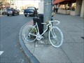Image for Harry Delmolino's Ghost Bike  - Northampton, MA