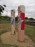 Image for Student Teachers Bollards - Geelong Waterfront, Victoria, AU
