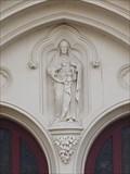 Image for Relief Figure of Christ - Sacred Heart  - Hanley, Stoke-on-Trent, Staffordshire, England. UK.