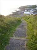 Image for Dunskey Castle Stairway - Portpatrick, Scotland, UK