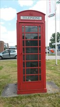 Image for Red Telephone box, Winschoten - Netherlands