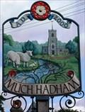 Image for Village Sign, Much Hadham, Herts, UK