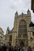 Image for Bath Abbey, AKA Church of St Peter and St Paul -- Bath, Somerset, UK