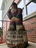 Image for Cumberland Crime Stoppers super hero mascott - Cumberland, Rhode Island  USA