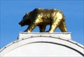 Image for Golden Bear on the Famous Lodi Arch, California